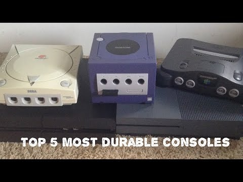 Top 5 most durable gaming consoles