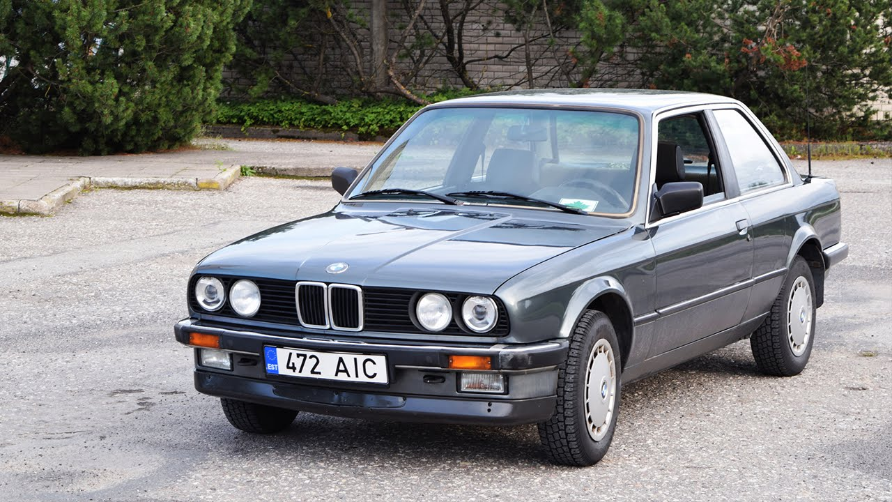 1986 Bmw E30 316 Coupe 66kw 1080p Youtube
