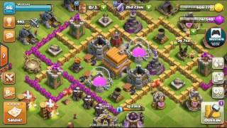 Clash of clans oynadiq koq cuzel oyun