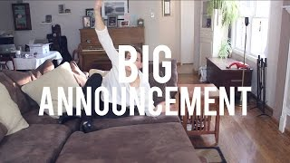 MY BIG ANNOUNCEMENT! Thumbnail