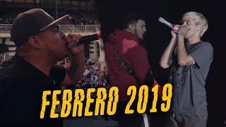 Las MEJORES RIMAS del MES de FEBRERO 2019 - ¡ÉPICO! | Bata...