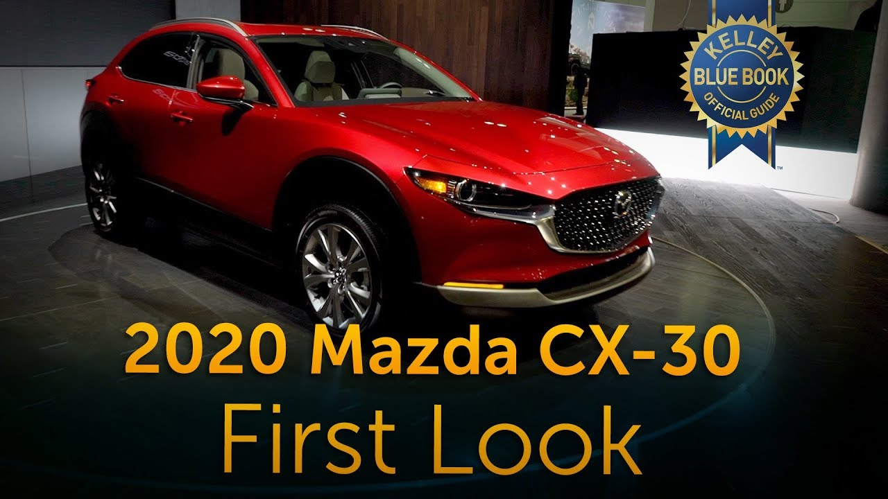 2020 Mazda Cx 30 First Look Youtube