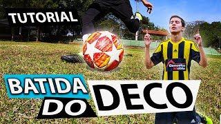 """APRENDA CHUTE COM CURVA """"BATIDA DO DECO"""" (Lances efetivos de futebol) - {BZK}"""