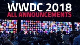 WWDC 2018: Quick Recap of All Major Announcements