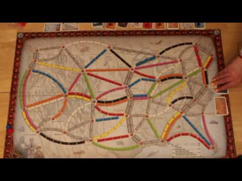 Ticket to Ride Gameplay |