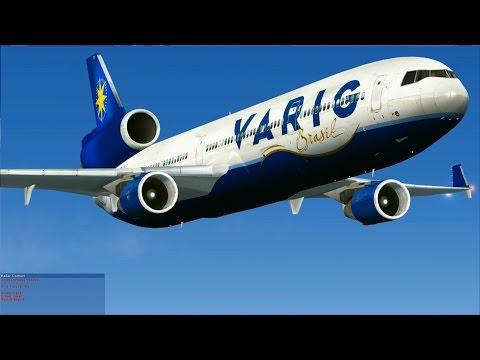 [FSX] Flying the past - VARIG MD-11 at Kai Tak
