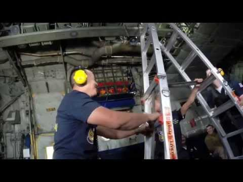 Blue Angels C 130 Fat Albert media flight - full ride and briefings