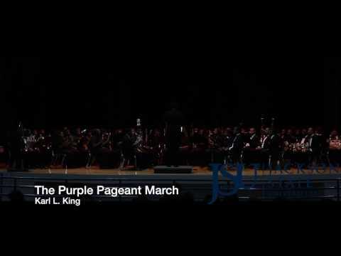 The Purple Pageant March (1933) - Symphonic Wind Ensemble