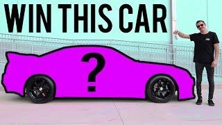 GIVING AWAY A LEGENDARY JDM CAR!