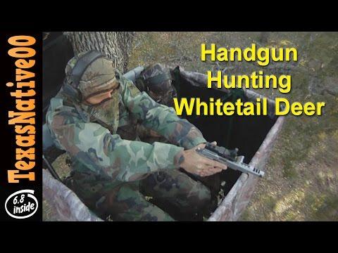 Handgun Hunting For Whitetail Deer