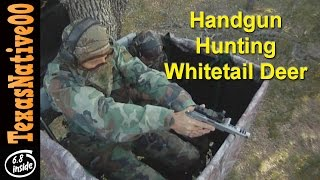 Handgun Hunting for Whitetail Deer