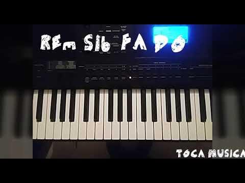 tutorial de piano de cancion hay libertad la casa de Dios SUPER FACIL