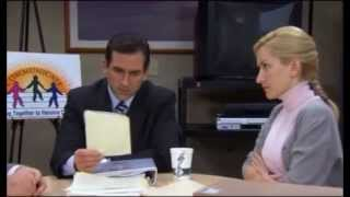 The Office - Conflict Resolution with Kevin and Angela