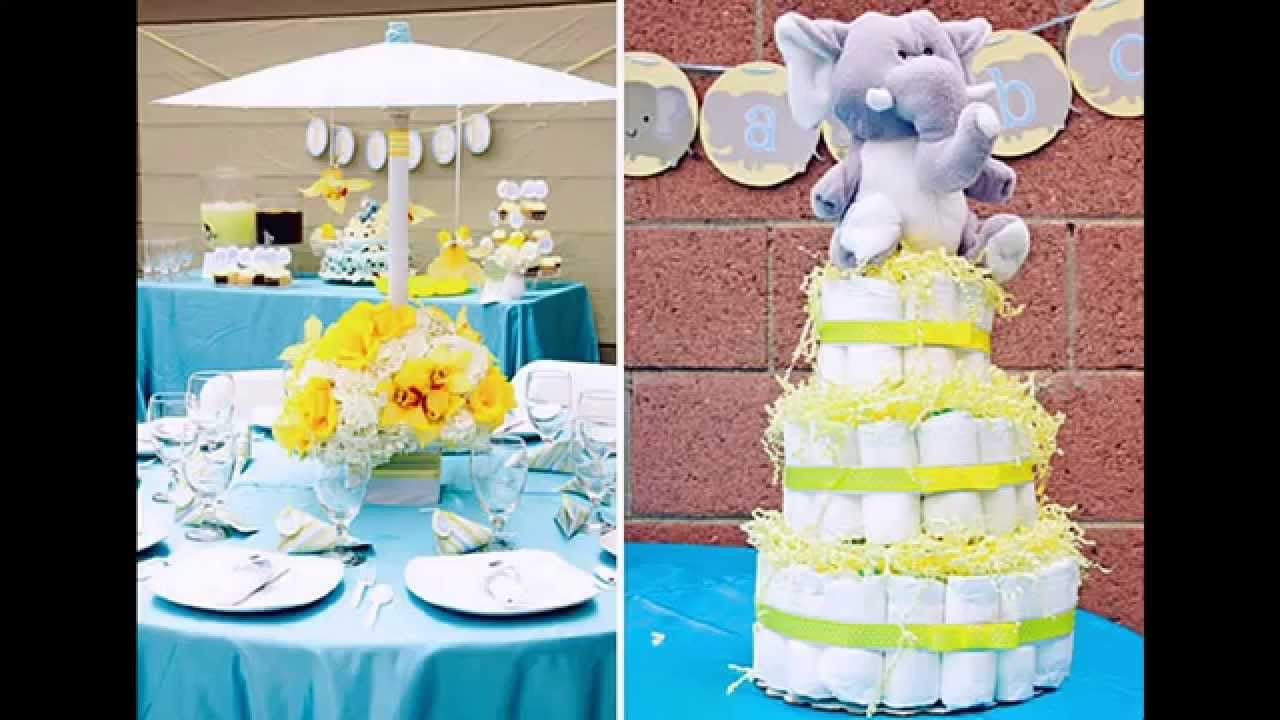 Unisex Baby Shower Themes Ideas   YouTube