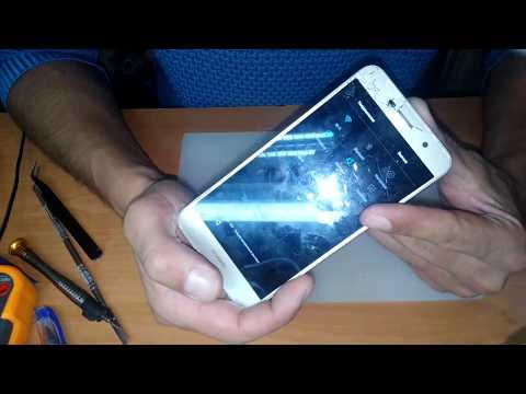 Разборка и замена модуля Huawei Y6 Pro TIT-U02