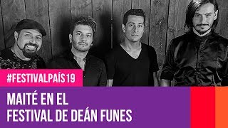 Maité en el Festival de Deán Funes | #FestivalPaís19