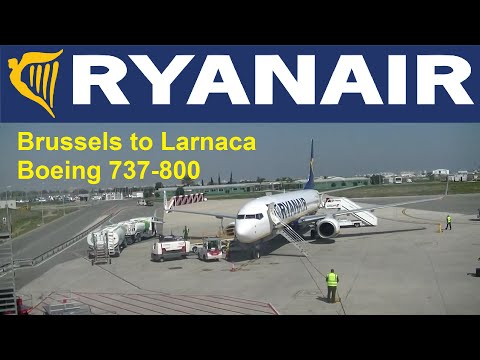 Tripreport: RYANAIR Boeing 737-800 Brussels Zaventem airport (Belgium) to Larnaca (Cyprus)