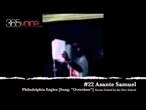NFL Player Asante Samuel Turns Into A Rapper During  Lockout