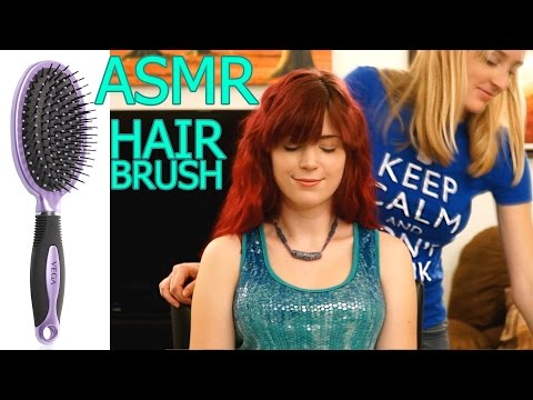 Keep Calm & ASMR Hair Brushing #10 No Talking Relaxing Sound Tingle Triggers