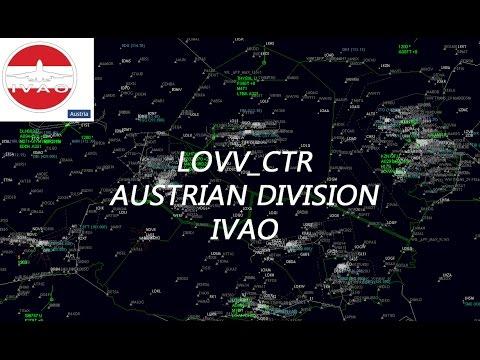 Livestream IVAO ATC | Wien Radar LOVV_CTR