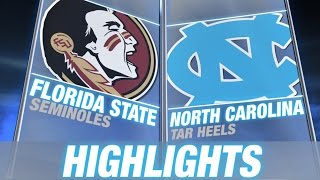 Florida State vs North Carolina | 2014-15 ACC Men