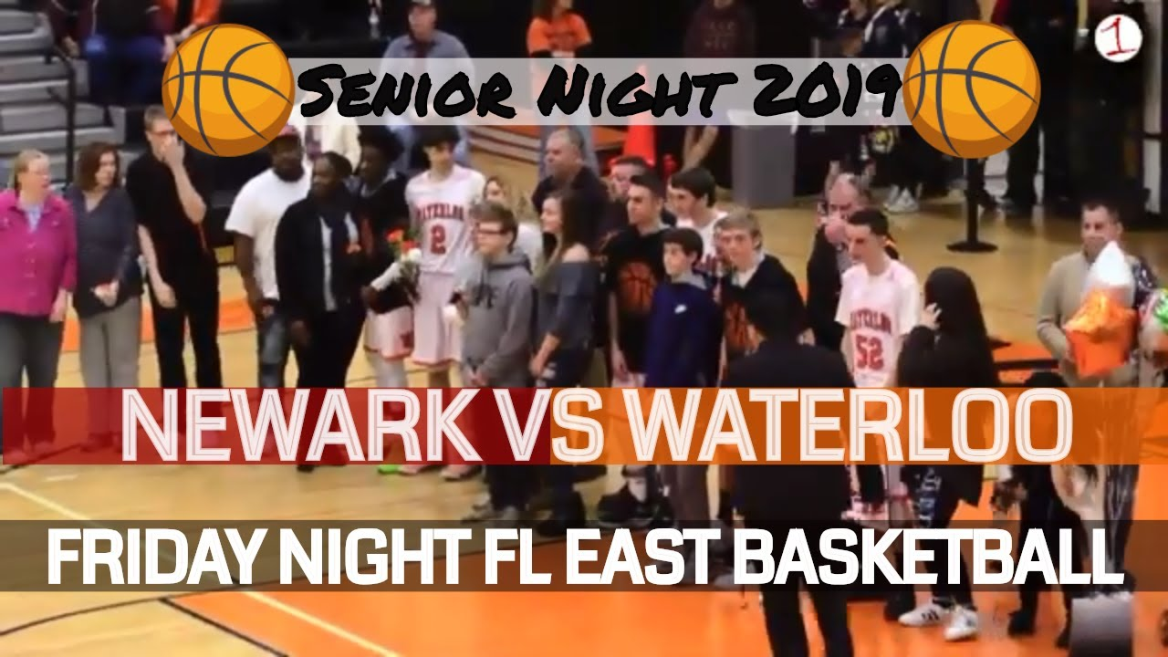 Newark Reds vs. Waterloo Indians .::. Finger Lakes East HS Basketball on FL1 Sports 2/8/19