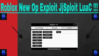 New Op Roblox Exploit JjSploit [December 9th 2017] With [LuaC ff/Fire/float/Smoke] and Much More :D