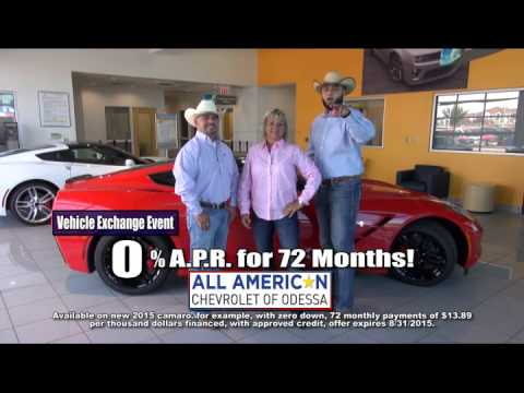 Top Dollar For Your Trade At All American Chevrolet Of Odessa!