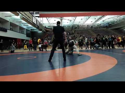 2016 Dino Invitational: 72 kg Thomas Johnston vs. Braden Gabrielson