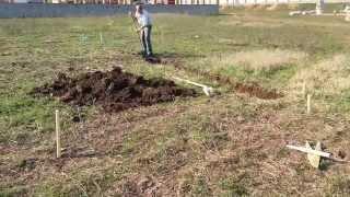 начало строительства нового дома! Разбивка участка и фундамента!(, 2013-05-09T14:08:54.000Z)