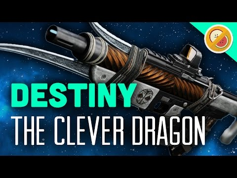 DESTINY The Clever Dragon (Iron Banner) Pulse Rifle Review & Gameplay (Rise of Iron)