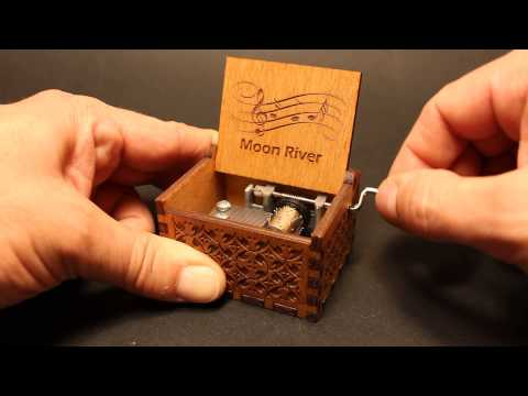Moon River - Audrey Hepburn - Breakfast at Tiffany's - Music box by Invenio Crafts