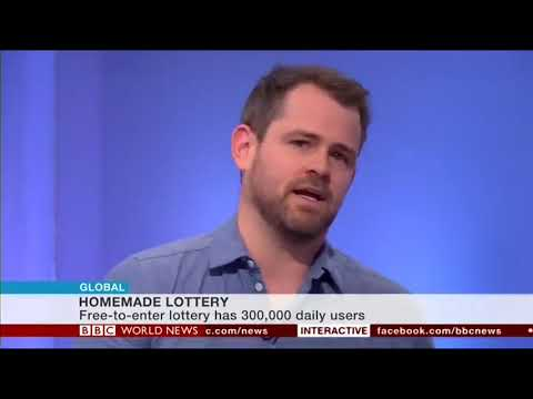 BBC World News Interview with Free Postcode Lottery Founder Chris Holbrook