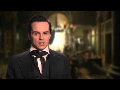 "Victor Frankenstein: Andrew Scott ""Inspector Turpin"" Behind the Scenes Movie Interview"