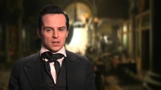 """Victor Frankenstein: Andrew Scott """"Inspector Turpin"""" Behind The Scenes Movie Interview"""