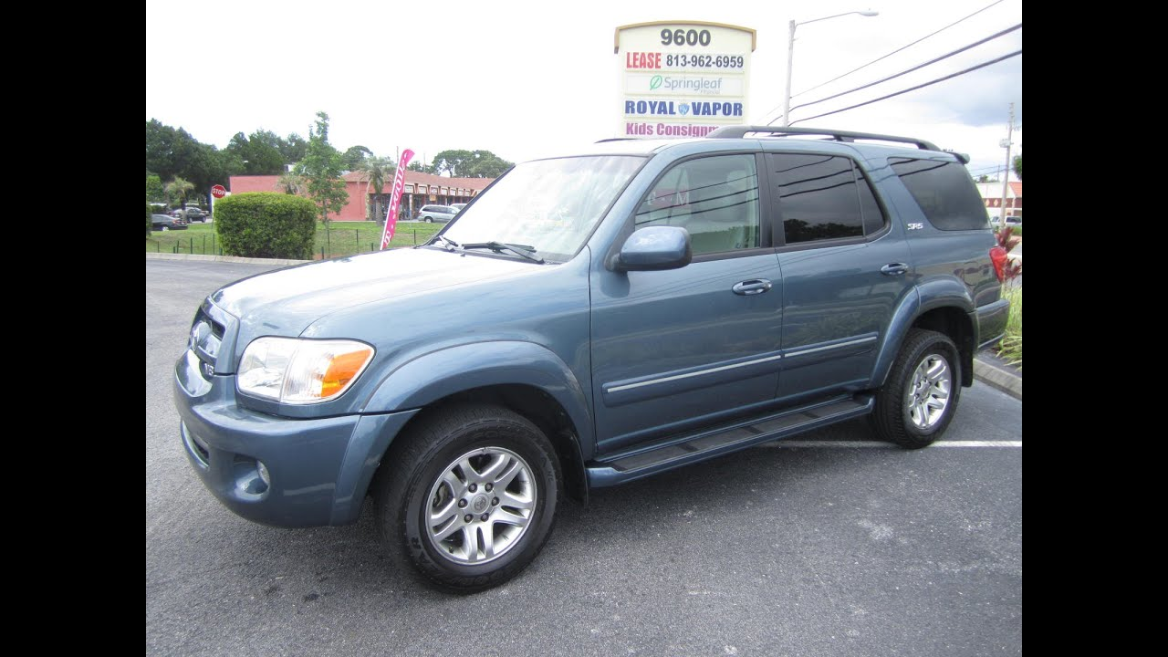 Sold 2007 toyota sequoia sr5 one owner meticulous motors inc florida for sale youtube
