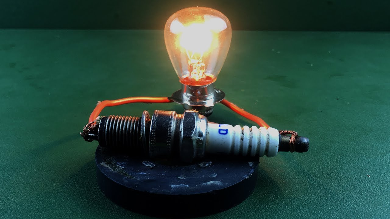 Science Electric Free Energy Generator Spark Plug With