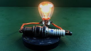 Science Electric Free Energy Generator Spark Plug with Magnets