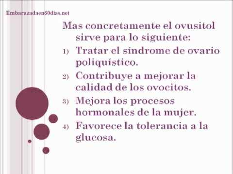 Que es el ovusitol y para que sirve