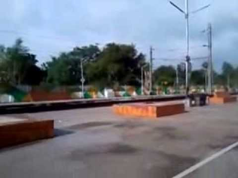 Pundooah Railway Station of Howrah Burdwan Main Line Video