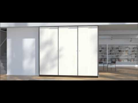 schiebet renschrank nach ma basic maxi mit 6 t ren youtube. Black Bedroom Furniture Sets. Home Design Ideas
