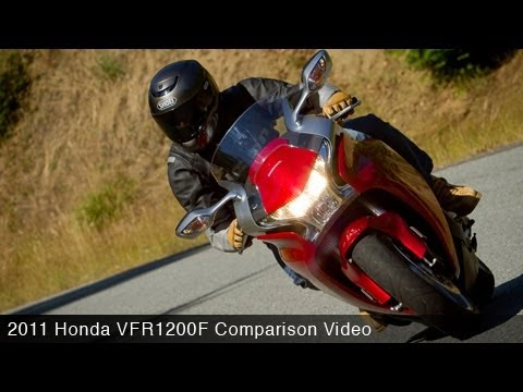 MotoUSA Road Sport Comparo: 2011 Honda VFR1200F