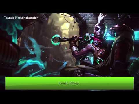 League of Legends Voice - Ekko Voice with subtitle