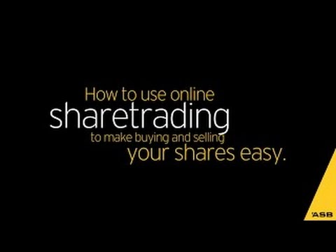 How to buy and sell shares online with ASB Securities