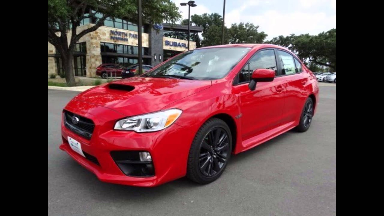 2016 Subaru Wrx Pure Red