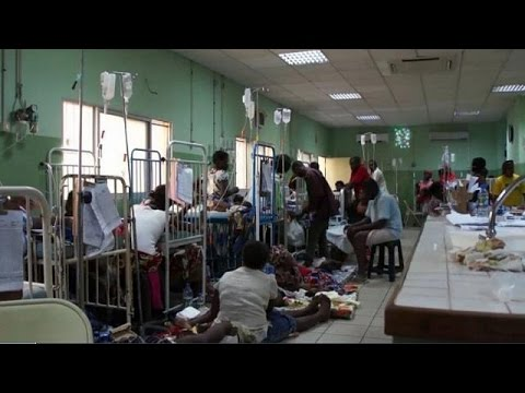 Angola's health crisis deepens after slump in oil causes budget cuts