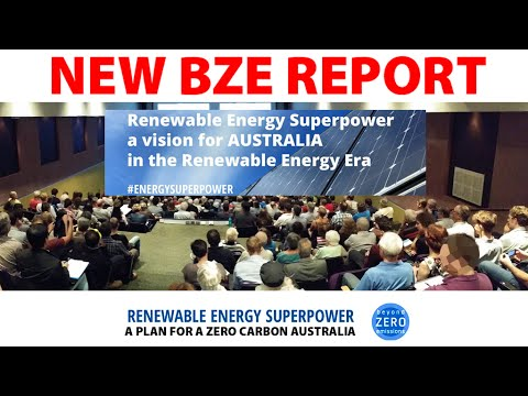 Launch of the Renewable Energy Superpower Plan, Melbourne
