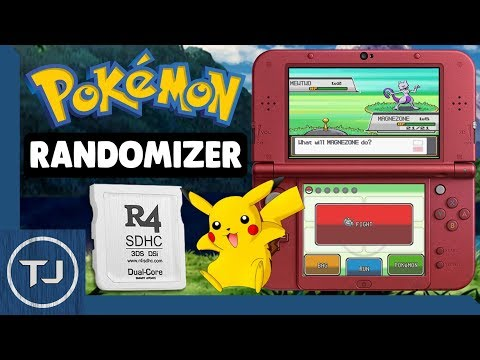 Play Randomized Pokemon Games On R4 Card! (DS/DSi/3DS)