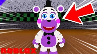 Becoming Helpy in Roblox Fredbear and Friends Family Restaurant