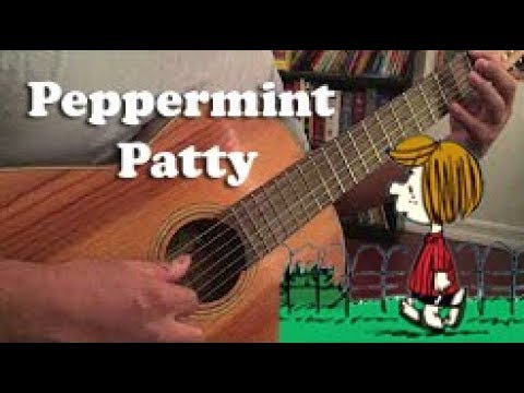 Peanuts / Charlie Brown - Peppermint Patty - Acoustic Guitar